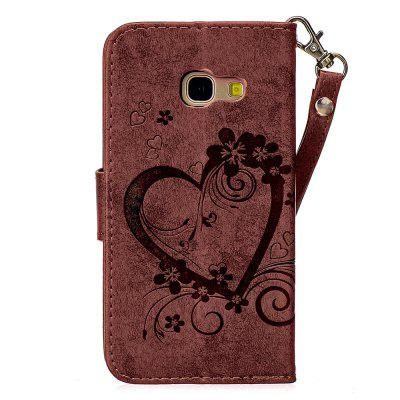 Love Embossed Full Protection Phone Case for Samsung A3 2017