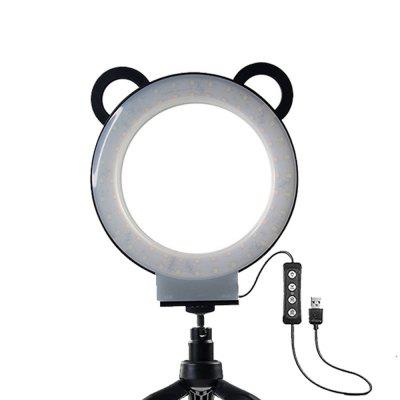 6 Inch Photography Self-Timer Ring Light LED Mobile Phone Support USB Tripod