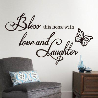 New Butterfly Rumors Home Decoration Removable Stickers