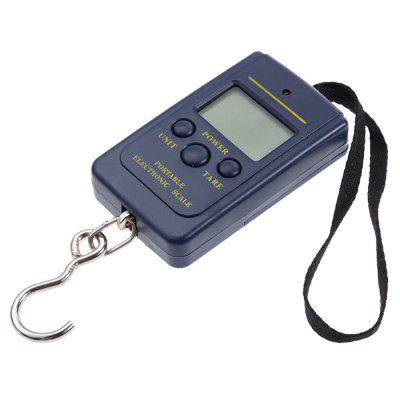 Small Scale Intelligent Electronic Portable 40 Kg Hanging Scale