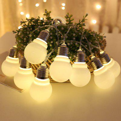 G60 Low Power Consumption 10 LED Bulb Lamp String 1.5mmp String 1.5m