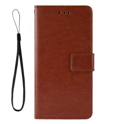 Crazy Horse PU Leather Phone Case For LG K50 / LG Q60
