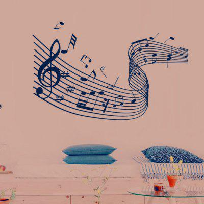 Musikalische Untermalung Home Wall Decoration Removable Sticker