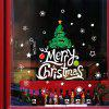 Kerstboom PVC Window Film Muursticker voor huisdecoratie - MULTI
