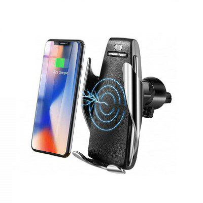 IR Intelligent Clamping Sensor Fast Wireless Charger Air Vent Holder for iPhone