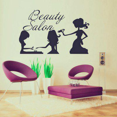 Salon de frumusețe Home Background Wall Decoratiuni Wall Sticker Removable Sticker