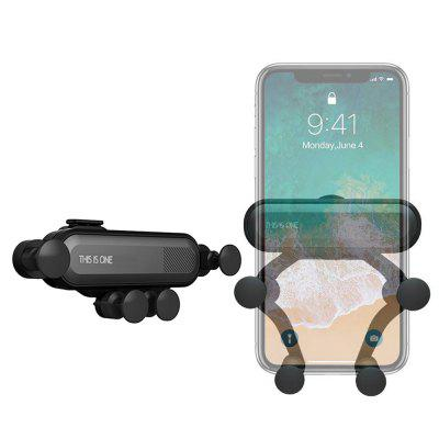 Obrót o 360 stopni Gravity Car Air Outlet Uchwyt na telefon iPhone