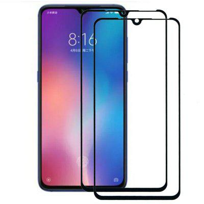 9H Full Tempered Glass Displayschutzfolie für Xiaomi Mi CC9 2St