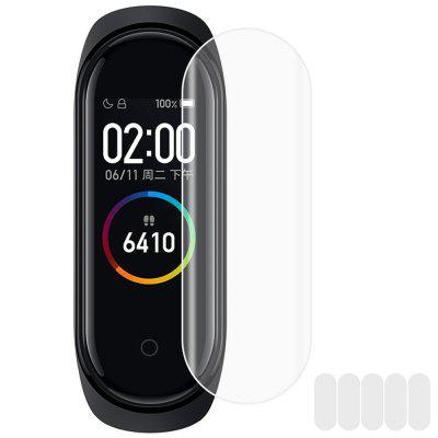 TPU Soft Screen Protective Film for Xiaomi Mi Band 4 Smart Wristband 5PCS