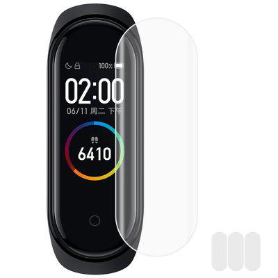 Full Cover Screen Protective Film for Xiaomi Mi Band 4 Smart Wristband 3PCS