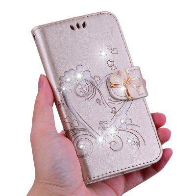 Bling Rhinestone Diamond Leather Wallet Phone Case for Huawei Mate 20 Pro Case