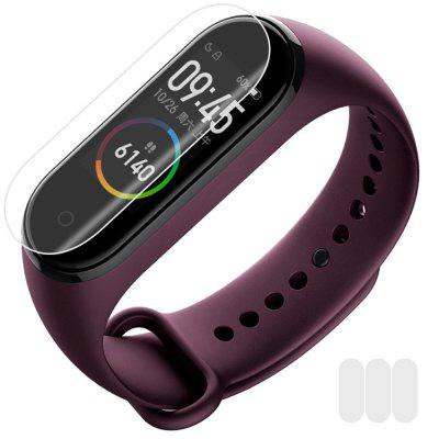 Película Protetora TPU de Tela para Xiaomi Mi Band 4 Smart Watch 3PCS