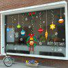 Christmas Decorations PVC Window Film Wall Sticker For Home Decoration - MULTI
