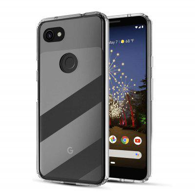 Transparante TPU Back Phone Cover Case voor Google Pixel 3 XL