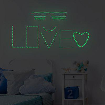 Luminous Dot Acasă Fundal Wall Decoratiuni Wall Sticker Removable Sticker