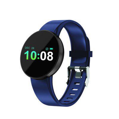 Color Screen Heart Rate Blood Oxygen Measurement Waterproof Smart Watch