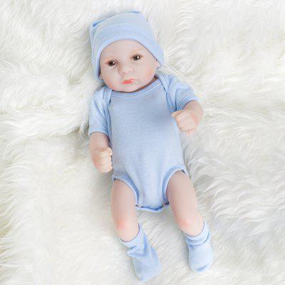 10 Inch Mini Whole Silicone Reborn Baby Boy Dolls Newborn Toys For Kids