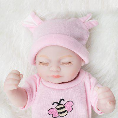 New Styles Mini Pink Suit Reborn Baby Dolls Cute Baby Toys