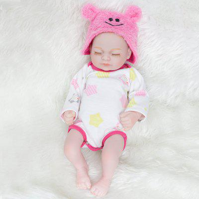10 Inch New Styles Mini Pink Hat Whole Silicone Reborn Baby Doll Toys