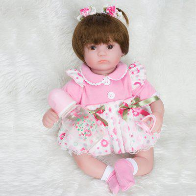 Cute 16 Inch Reborn Newborn Baby Girl Dolls Kids Toys