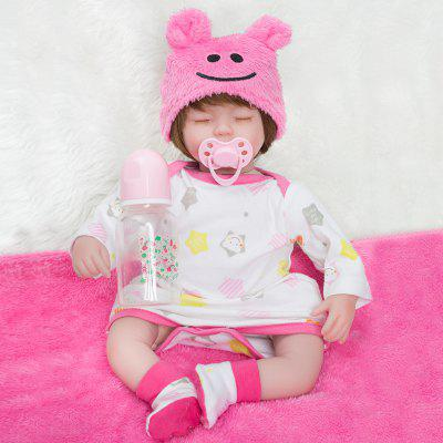 16 Inch Reborn Baby Doll Cute Sleeping Girl Toys Newborn