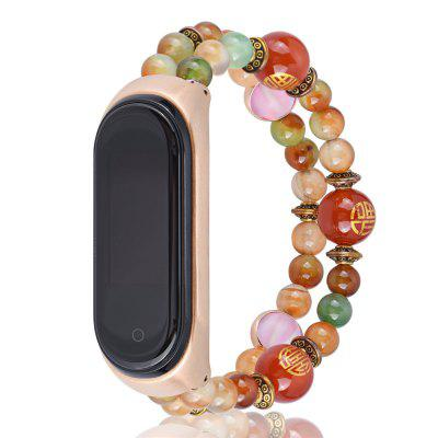 Agate armband horlogeband vervanging band voor Xiaomi Mi Band 4