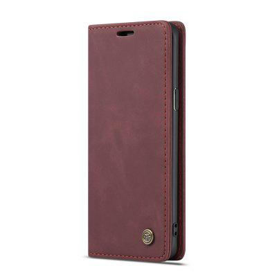 CaseMe for Samsung Galaxy S9 Wallet Flip Phone Case Shockproof Cover Card Slots