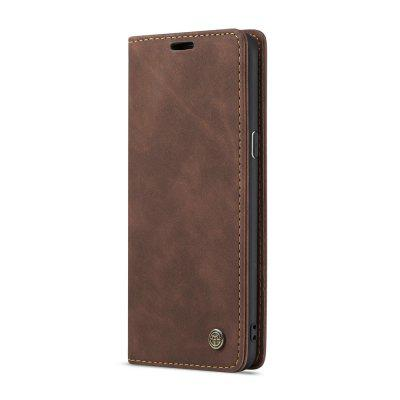 CaseMe for Samsung Galaxy S9 Plus Magnetic Flip Wallet Phone Case with Stand