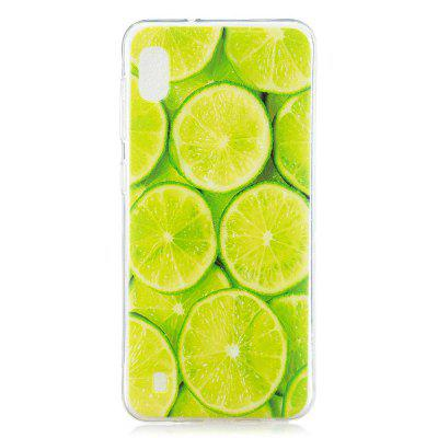 Lime Painted TPU Phone Case for Samsung Galaxy A10