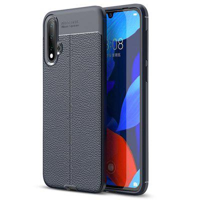 Litchi Grain Shockproof Phone Case for Huawei Nova 5/Nova 5 Pro