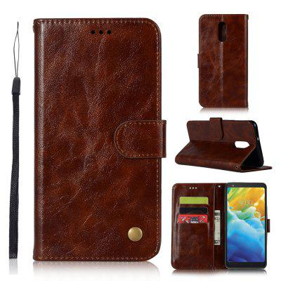 Premium PU Leather Flip Wallet Phone Case for LG Stylo 5