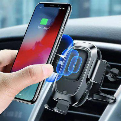 Inteligentny czujnik podczerwieni Auto Lock 10W Qi Wireless Car Charger Holder
