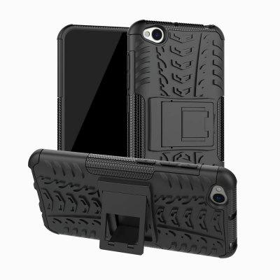 CHUMDIY 3D Relief Protective Back Phone Case with Stand for Redmi Go