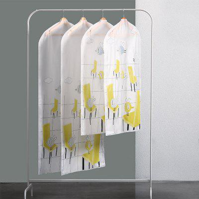 Printing Dust - Proof Hang Clothes Storage Bag 6PCS