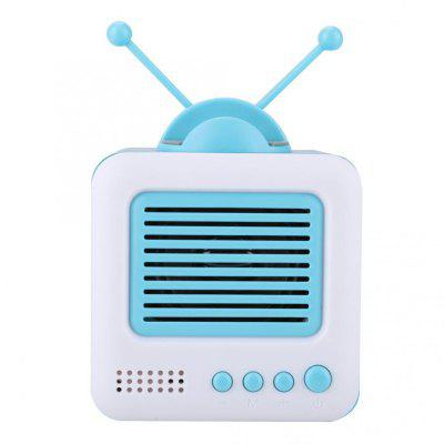 Mini Bluetooth Retro Speaker Stereo Support Mobile Phone TF Card USB Audio Input