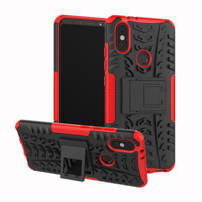 Armor Cover with Stand Phone Case for Xiaomi Mi A2 / 6X