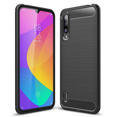Luxury Carbon Fiber Soft Phone Case for Xiaomi Mi A3