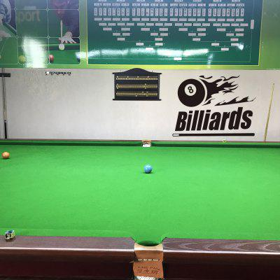 Billiards Fitness Exercise Inspirational Home Wall Decoration Wall Stickers