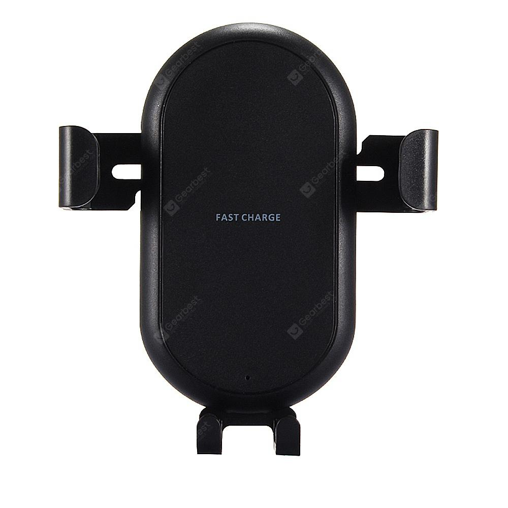Minismile T8 10W Car Air Vent Mount Holder with Wireless Fast Charging Charger