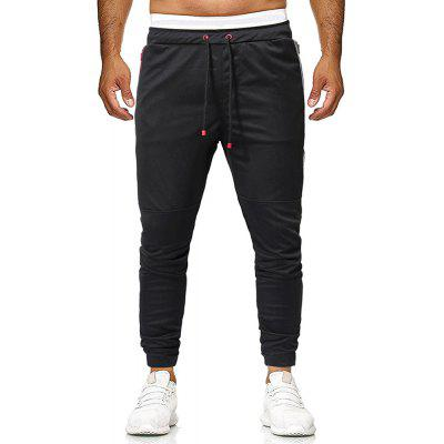 Men's Summer Fashion Contrast Color Stitching Casual Pants
