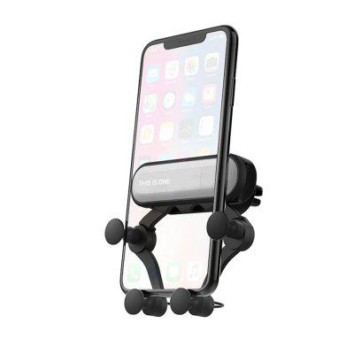 JOFLO 360-Degree Rotation Gravity Car Air Outlet Phone Holder for iPhone