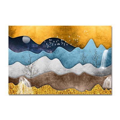 DYC Neo Chinese Style Abstract Mountain Print Art Print