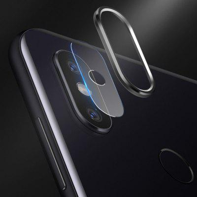 2 in 1 Camera Lens Protector Ring Tempered Glass Film for Xiaomi Mi 8SE
