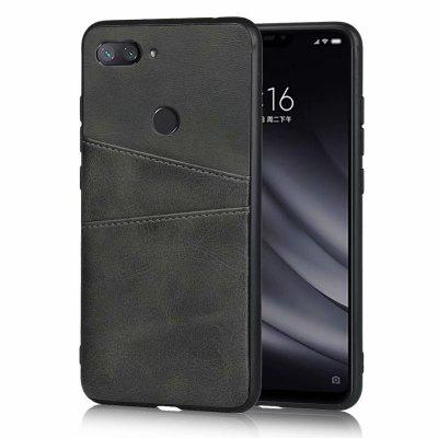 Leather Card Slot Phone Case for Xiaomi Mi 8 Lite