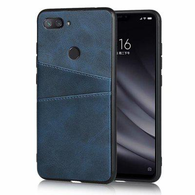 Leder Card Slot Phone Case für Xiaomi Mi 8 Lite