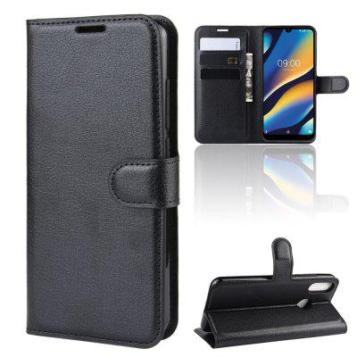 Card Protection Leather Phone Case for Wiko View 3 Lite