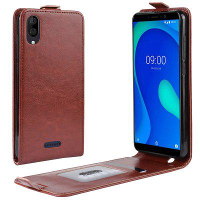Luxury PU Leather Flip Wallet Phone Case for Wiko Y80