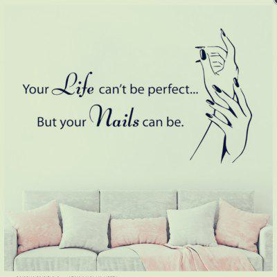 Life Hands Rumors Home Decoration Wall Stickers Removable Stickers