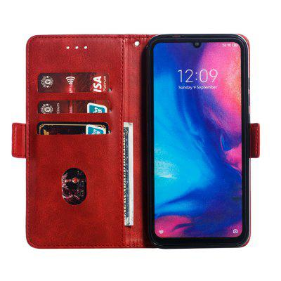 Calf Pattern Protective Sheath Purse Phone Case for Redmi Note 7/Note 7 Pro, Black;red;blue;brown;yellow