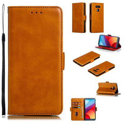 Calf Pattern Protective Sheath Purse Phone Case for LG G6